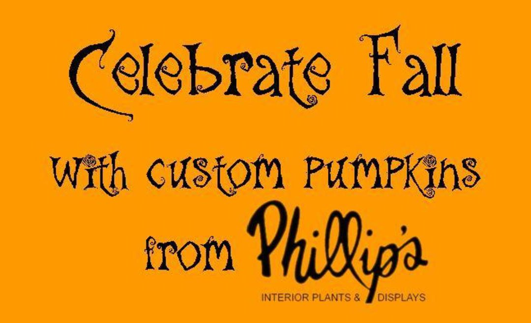 More Custom Engraved Pumpkins and Fall Displays!