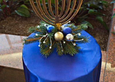 Holiday-menorah