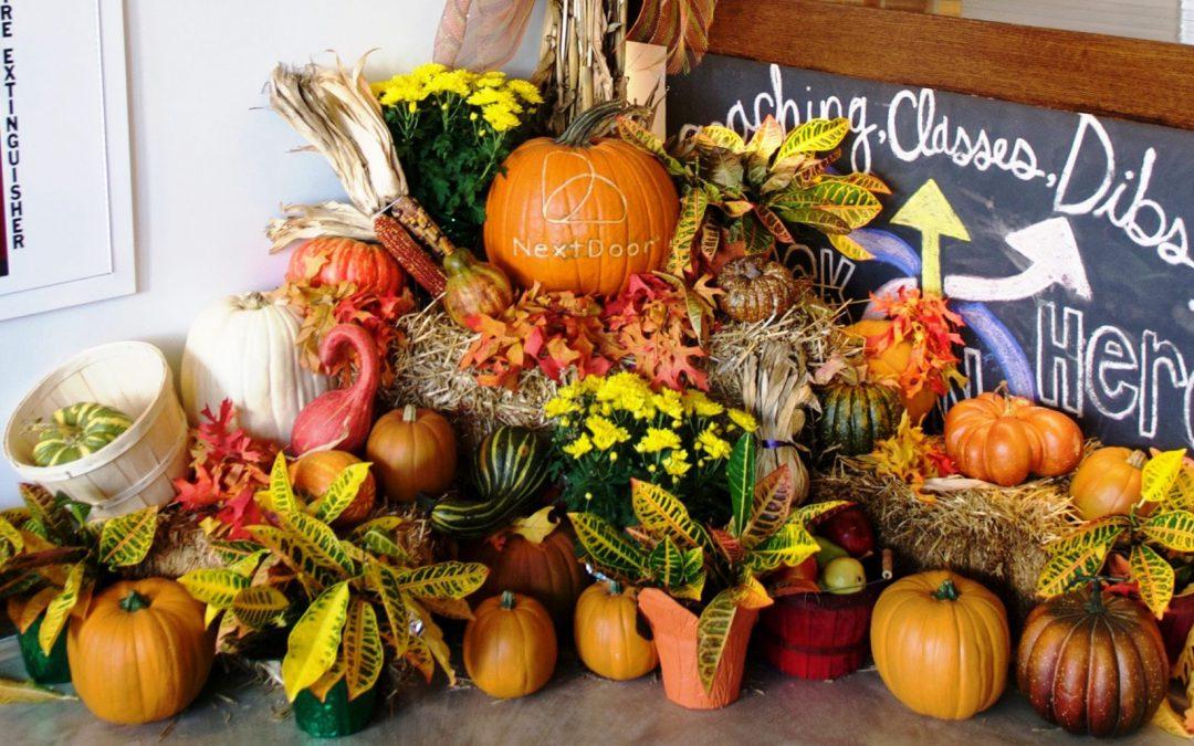 Custom Engraved Pumpkins and Fall Displays!
