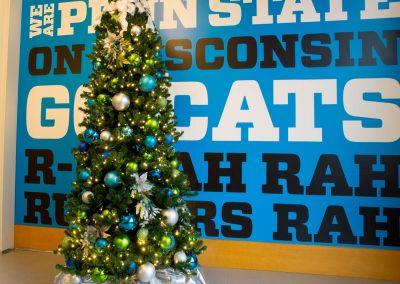 Blue, Green, & Silver Christmas Tree